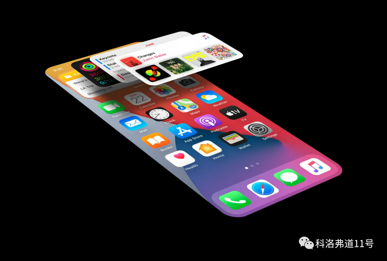 官方设计指南,解读全新的 iOS 14 小组件设计理念